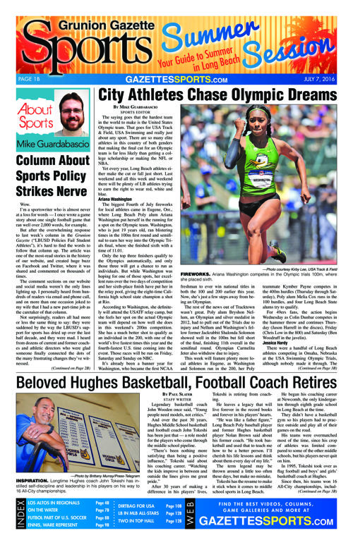 Gazette Sports | July 7, 2016