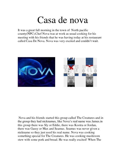 Casa De Nova!