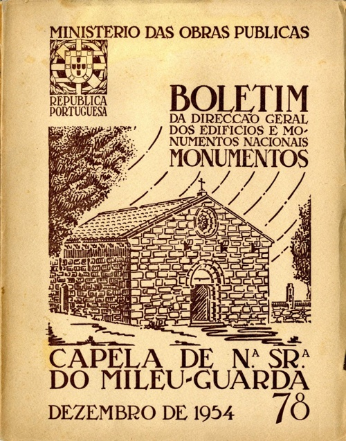CAPELA NªSª DO MILEU, GUARDA, DGEMN, DEZ1954