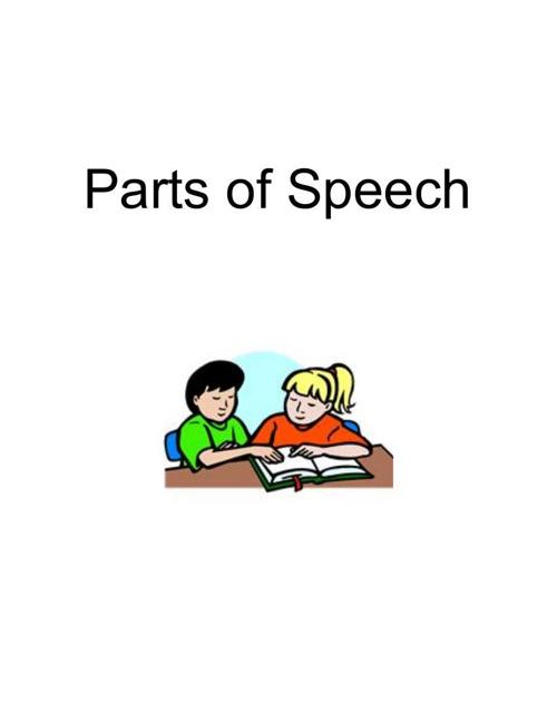parts of speech flipsnack