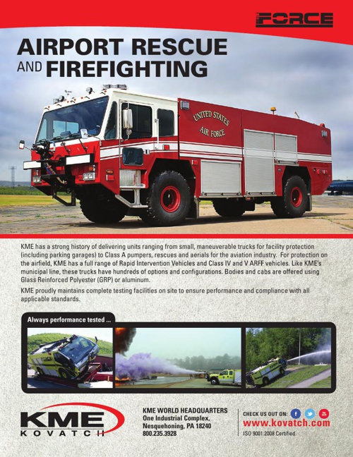 KME - Airport Rescue & Firefighting Apparatus