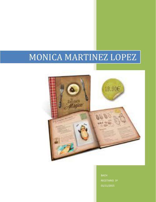 Monica Martinez 3a receario