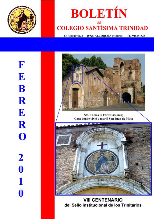 Revista Trinitarios 2010