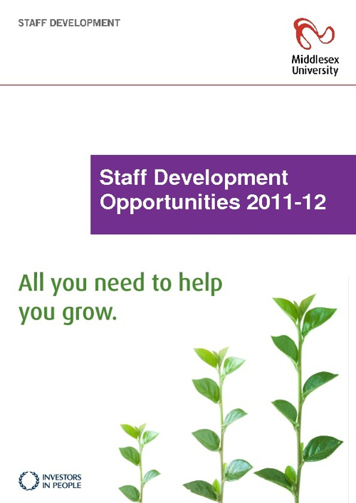 Staff Development Brochure