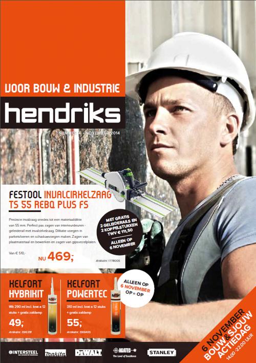 HENDRIKS BOUW EN SJOUW DAG FOLDER