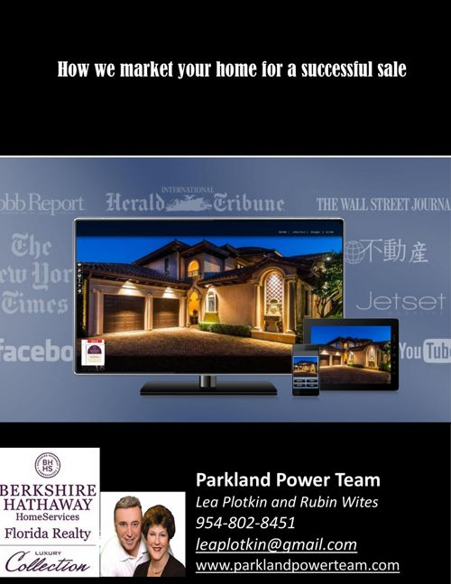2017 marketing brochure Parkland Power Team