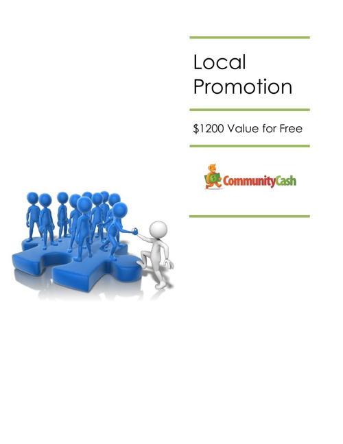Local Civic Group Promotion