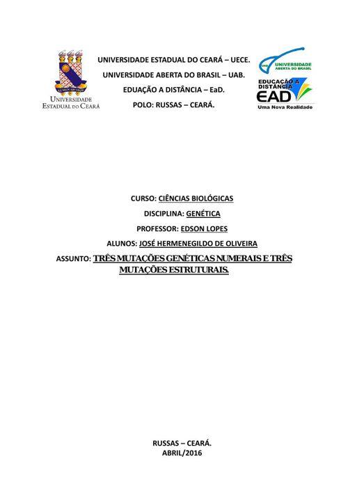 Bio Ação 02 - Genética - Professor Edson Lopes