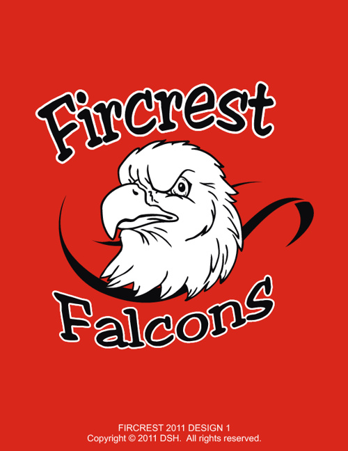 Fircrest Falcons Elementary School 2011 Designs