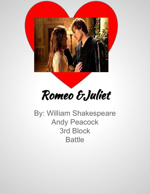 Romeo and Juliet Scrapbook-Andy