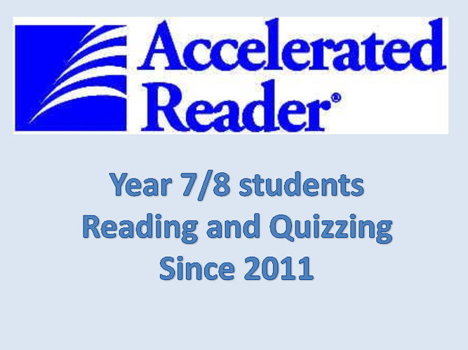 Accelerated Reading Programme