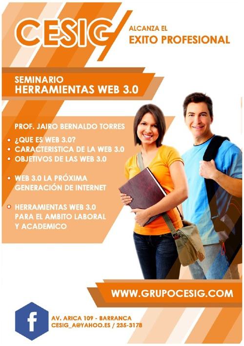 Seminario Herramientas Web 3.0