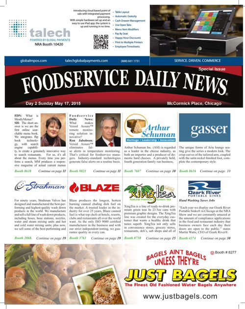 Foodservice Daily News NRA 2015 Day 2