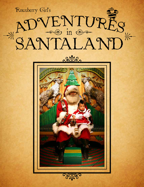 Rouxberry Girl's Adventures in Santaland
