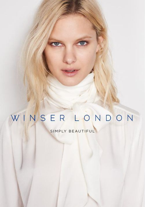 Winser London Spring Summer 16 Brochure