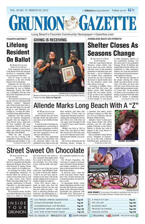 Grunion Gazette | March 22, 2012