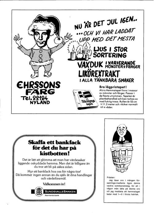 Nylands bladet  1977