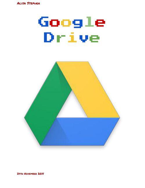 Google Drive user guide