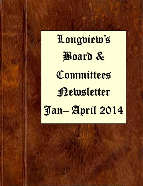 Board and Committee Newsletter-1st Quarter-2014