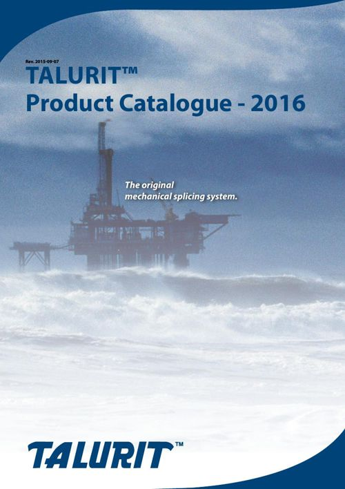 Product Catalogue - 2016