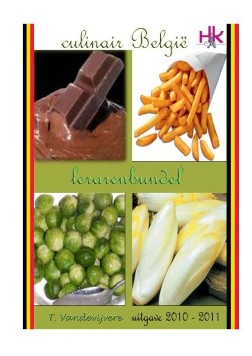 Culinair België - lerarenbundel
