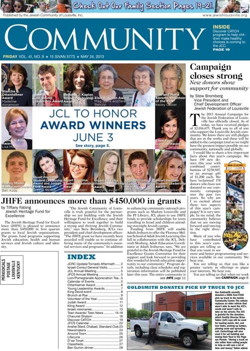 Community Newspaper 05.24.13