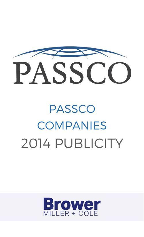 Passco Companies 2014 Publicity