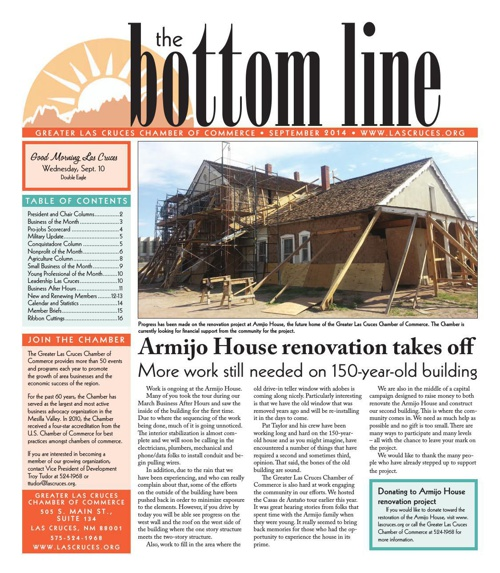 The Bottom Line September 2014