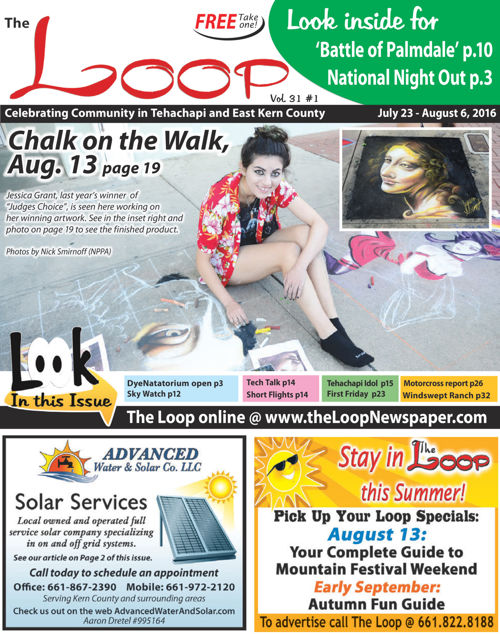 The Loop Newspaper - Vol 31 No 1 - July 23 to August 6, 2016