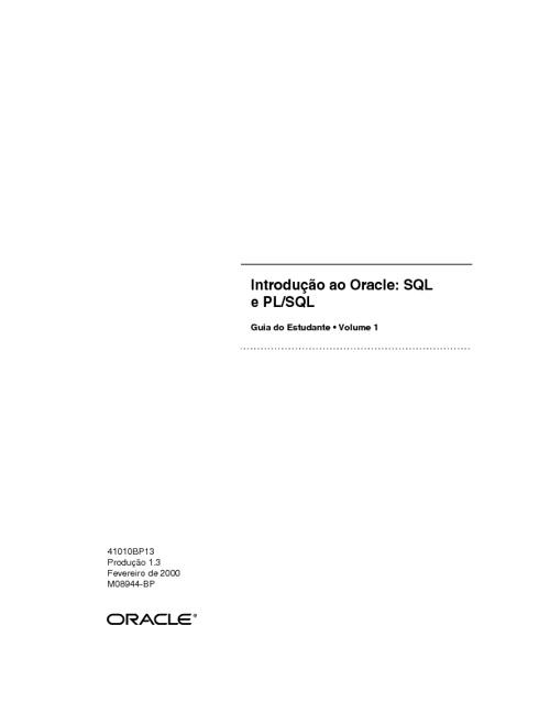 Oracle Parte1