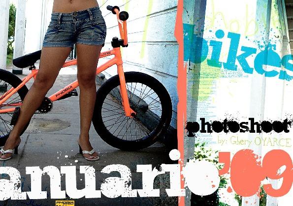 Anuario Photoshoot 2009 Phobia BMX Bikes