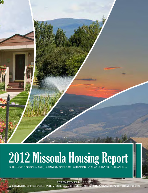 2012 Missoula Housing Report