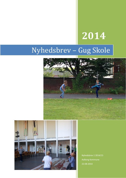2014 Nyhedsbrev August