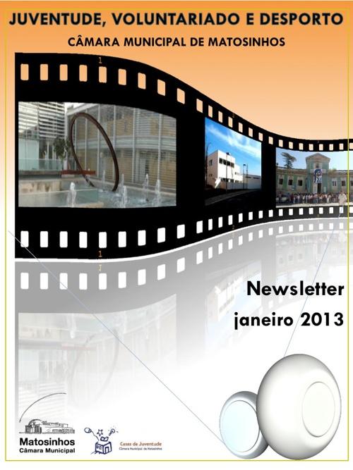 Newsletter janeiro 2013