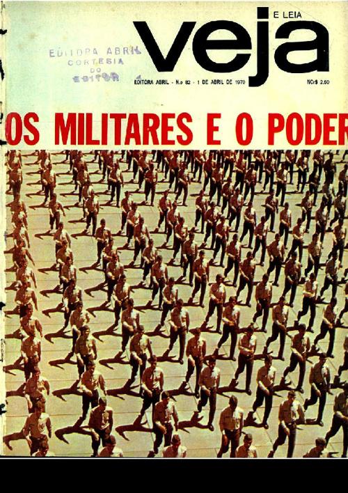 Veja - Edição 82 - 1/04/1970