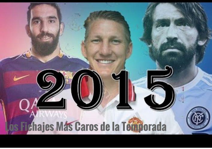 Los Fichajes Más Caros Del 2015