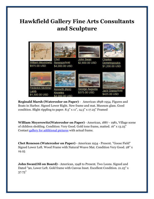 Hawkfield Gallery Fine Arts Consultants and Sculpture