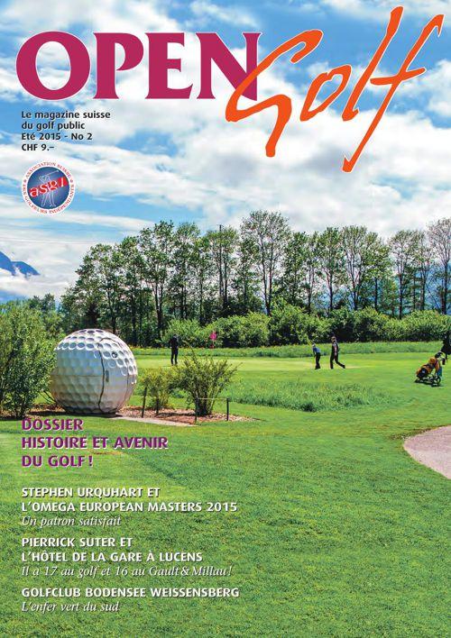 Open Golf - Été 2015