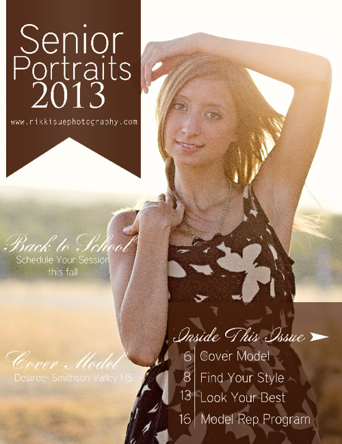 Senior Magazine Fall 2012