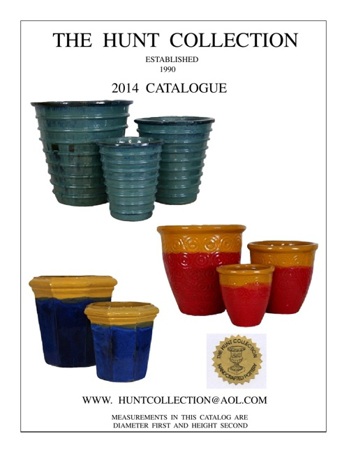 HUNT COLLECTION CATALOG 2014