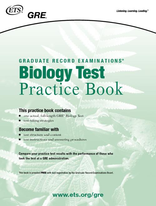 Bio Practice Test