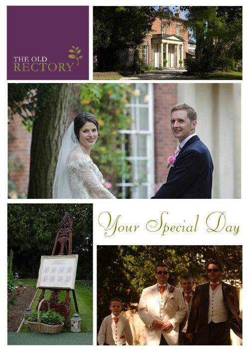 Wedding Brochure The Old Rectory Wem Shropshire 2016