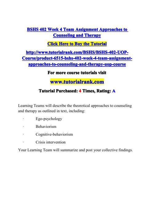 bshs 402 final exam
