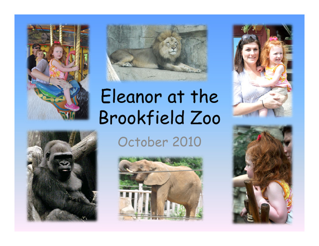 Eleanor at Zoo Flip