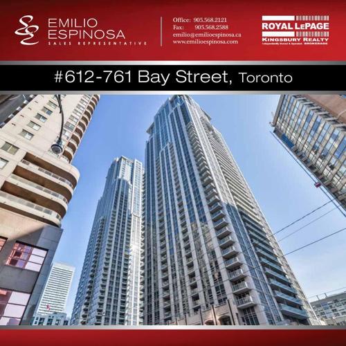 #612-761 Bay Street Toronto Emilio Espinosa