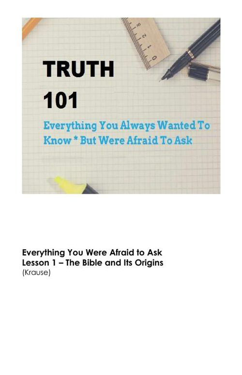 Truth 101 - Small Group Study