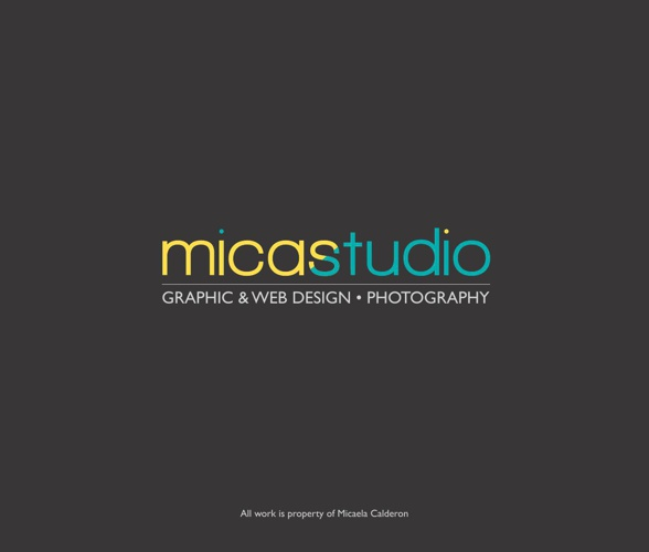 Micaela Calderon Portfolio