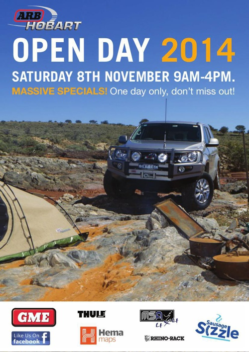 ARB Hobart Open Day 2014