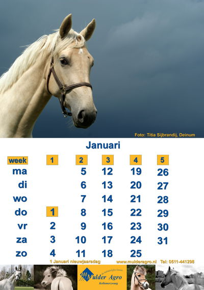 Mulder Agro Agrarische kalender 2015