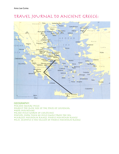 Greece Travel Journal